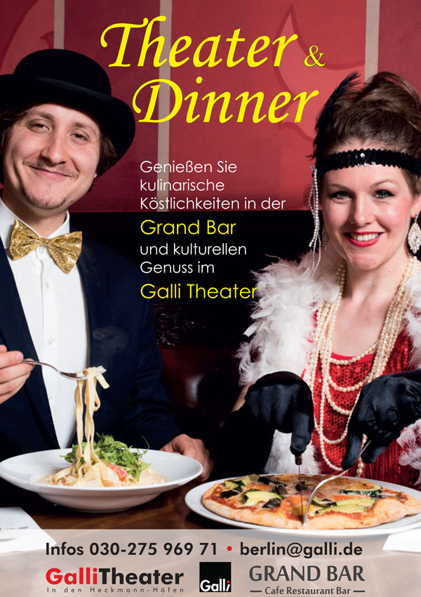 Theater und Dinner