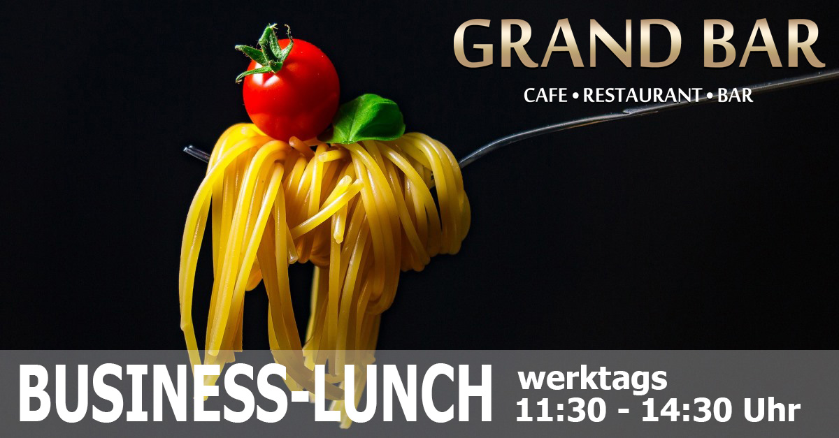 Business-Lunch in der GRAND BAR Berlin Mitte